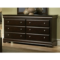 Chesapeake 6 Drawer Dresser