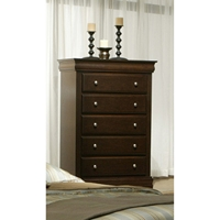 Chesapeake 5-Drawer Chest - Cappuccino