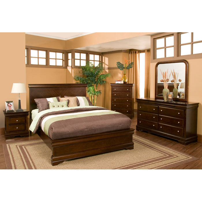 Ashley Furniture Chesapeake Va: Chesapeake Panel Bed With Nightstands