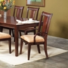 Saratoga Dark Walnut Arm Chair (Set of 2) - ALP-341-46