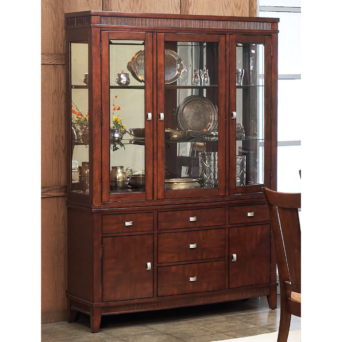 Saratoga Buffet Table With Hutch   ALP 341 71 72 ...