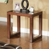 Tiburon End Table with Track Legs - ALP-497-02