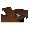 Davenport Extension Dining Table - Espresso Finish, Walnut Top - ALP-5478-01