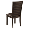 Davenport Side Chair - Espresso, Faux Leather - ALP-5478-02