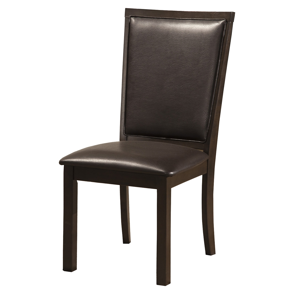 Davenport Side Chair Espresso Faux Leather DCG Stores : 5478 02 from www.dcgstores.com size 1000 x 1000 jpeg 197kB