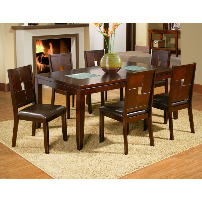 Lakeport 7-Piece Dining Set with Extension Table