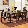 Piedmont 7-Piece Dining Set - Dark Walnut - ALP-566-SET2