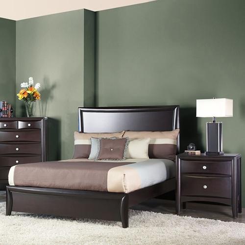 laguna full panel bedroom set - dark espresso | dcg stores