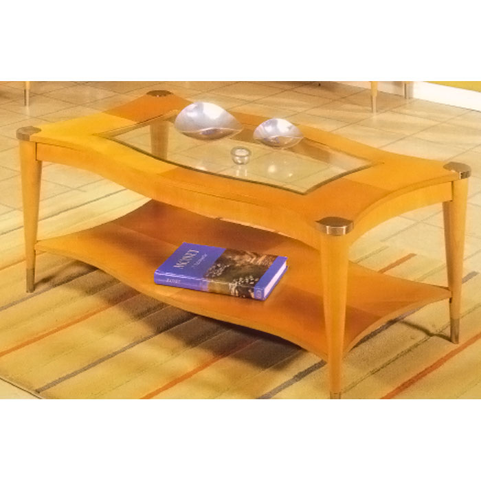 Sausalito Coffee Table   Natural Finish