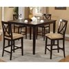 Jackson Dark Cherry Extension Pub Table with Butterfly Leaf - ALP-652-01