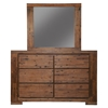 Pierre Bedroom Set - Antique Cappuccino - ALP-8104-BED-SET