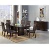 St Martin Dining Table - Removable Leaf, Espresso - ALP-8272-01