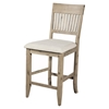 Aspen Pub Chair - Antique Natural - ALP-8812-04