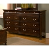 Windsor 9 Drawer Dresser - ALP-9000-1