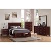 Carrington Bedroom Set Merlot Alp Ca Bed