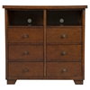 Durango 6-Drawer TV Media Chest - Antique Mahogany - ALP-ORI-113-11