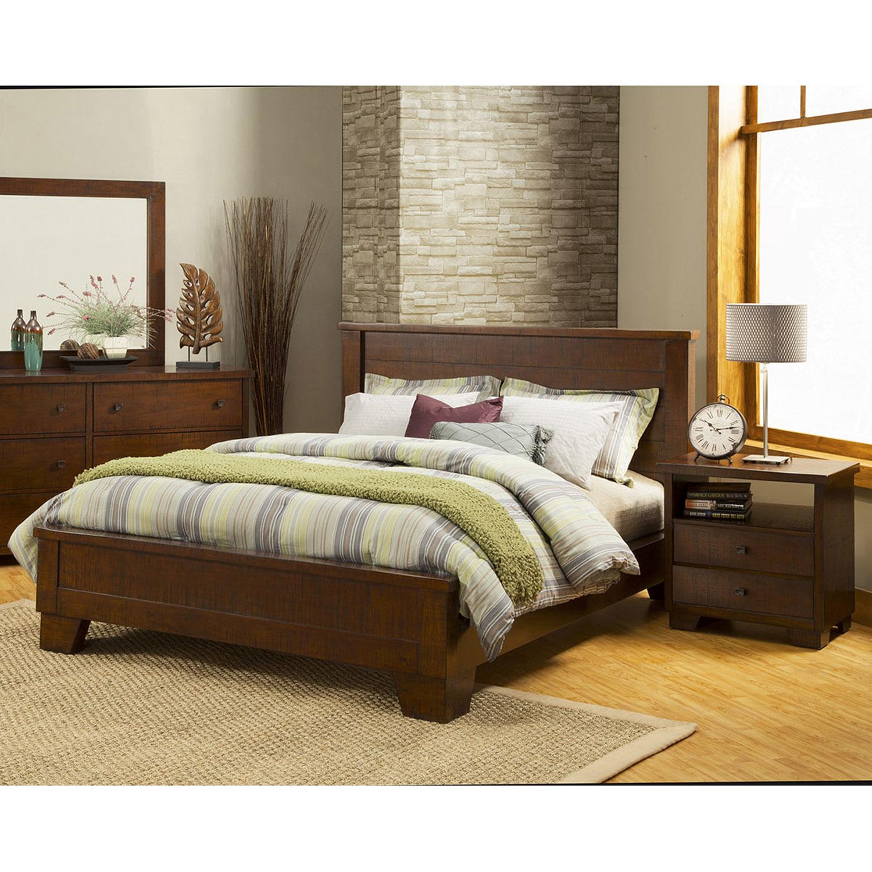 Durango Bedroom Set Antique Mahogany