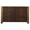 Element 6 Drawers Dresser - Espresso - ALP-ORI-213-03