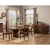 Napa 5-Piece Dining Set - Salvaged Brown - ALP-ORI-813-SET