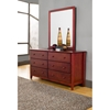Portola 6 Drawers Dresser - Light Cherry - ALP-PB-03LC