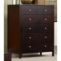 Solana Wood Chest in Cappuccino