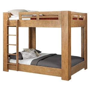Natural Elements Bunk Bed - Soft Driftwood with Off-White Glaze