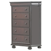 Hyde Park 5-Drawer Chest - Merlot - AW-1310-CH
