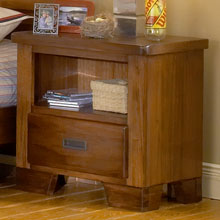 Heartland Nightstand with Open Shelf