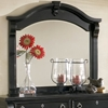 Heirloom Black Arched Frame Mirror - AW-2900-040