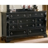 Heirloom Elegant Dresser in Black - AW-2900-210