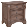Heirloom 3-Drawer Nightstand - Weathered Gray - AW-2920-430