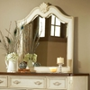 Chateau Antique White Beveled Mirror - AW-3501-040