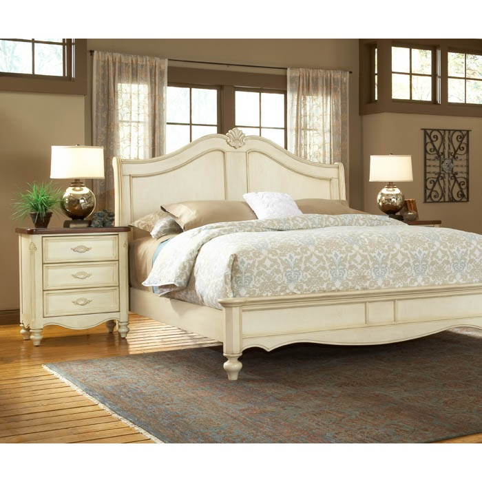 chateau 3 piece bedroom set with sleigh bed dcg stores