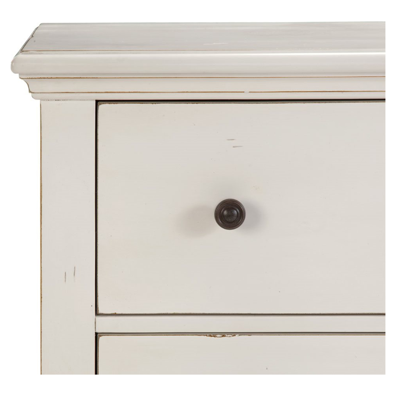 Pathways 7-Drawer Double Dresser - Antique White - AW-5110-270