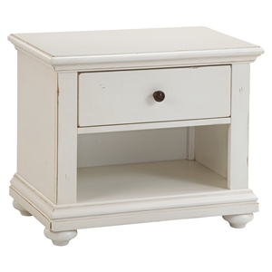 Pathways 2-Drawer Nightstand - Antique White