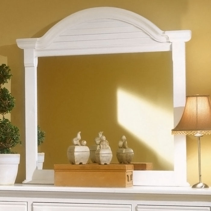 Cottage Traditions Dressing Mirror in Eggshell White - AW-6510-032
