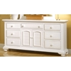 Super Cottage Traditions Triple Dresser In Eggshell White Best Image Libraries Counlowcountryjoecom