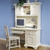 Cottage Traditions Youth White Desk and Hutch - AW-6510-342-6510-546