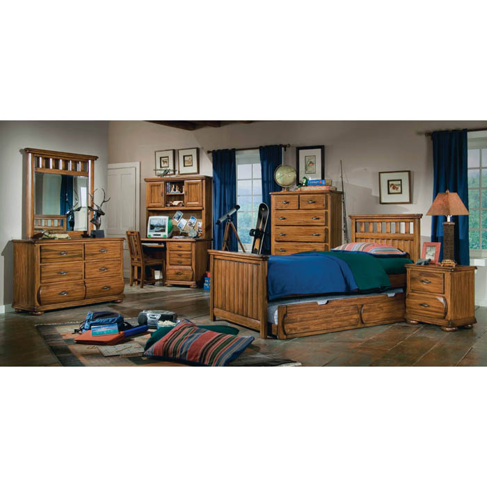 Timberline 2-Drawer Nightstand - AW-7400-420