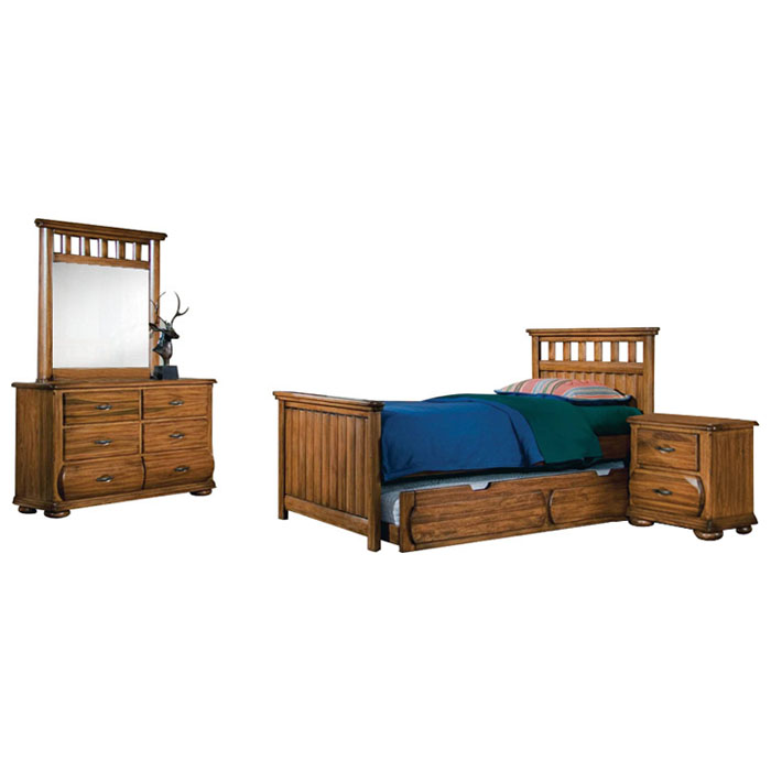 Timberline 4 Piece Youth Bedroom Set