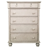 Newport Master Chest in Antique Birch - AW-3710-150