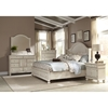 Newport Queen Panel Storage Bed in Antique Birch - AW-3710-50PBS