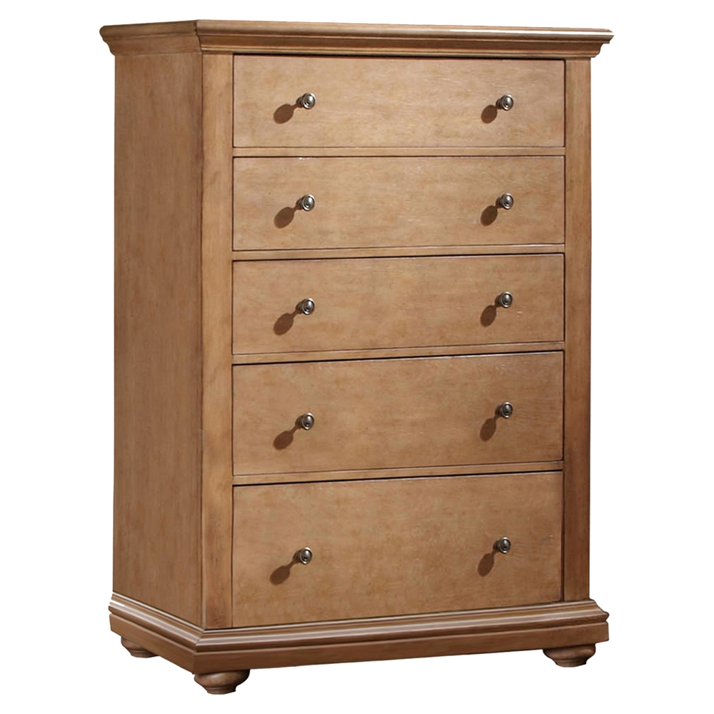 Pathways 5 Drawers Chest In Sandstone Dcg Stores