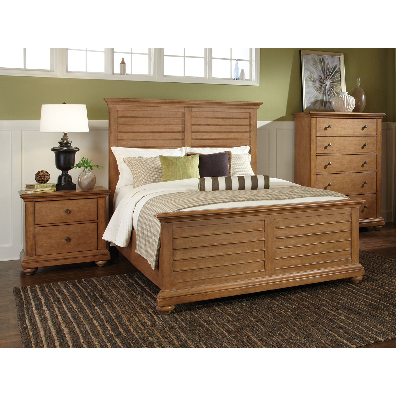 Pathways 2-Drawer Nightstand in Sandstone - AW-5100-420