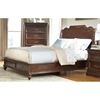 Signature King Sleigh Bed with Storage Set in Rich Dark Brown - AW-8000-KSLES-SET