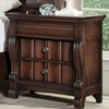 High Society 3-Drawer Nightstand in Walnut - AW-8600-430