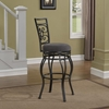 Albany Swivel Bar Stool - Charcoal Gray - AW-B1-151-30F