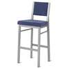 Payton Cushioned Mid-Back Stool - AMIS-40103