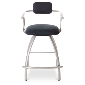 Kris Metal Frame Swivel Stool