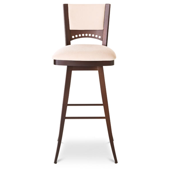 Lily Contemporary Upholstered Swivel Stool Dcg Stores